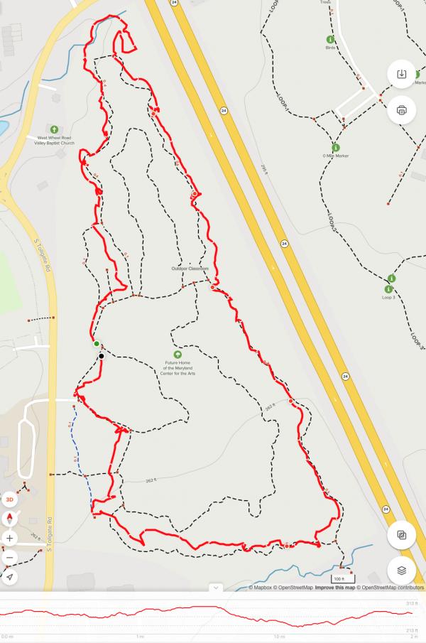 Bear Legacy White Trail